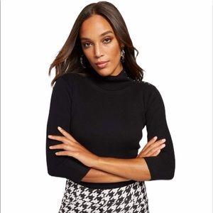 7th Avenue New York & Company Ribbed Knit Sweater